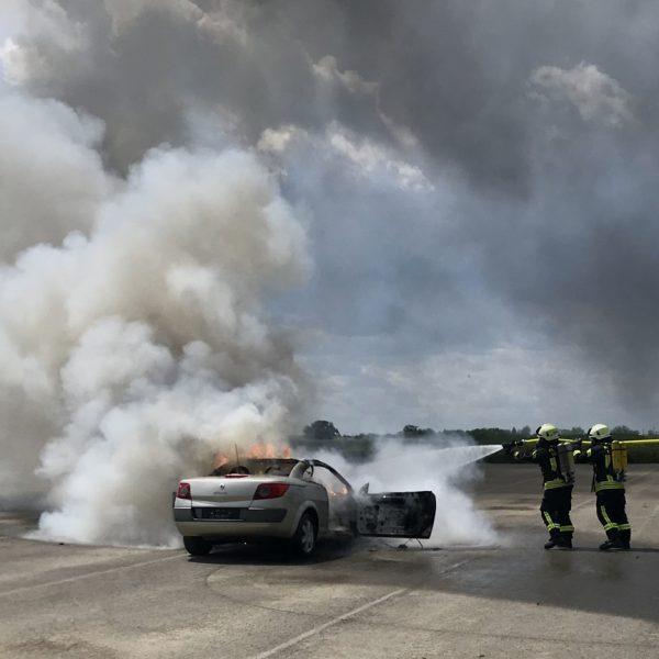 Feuer unter Kontrolle
